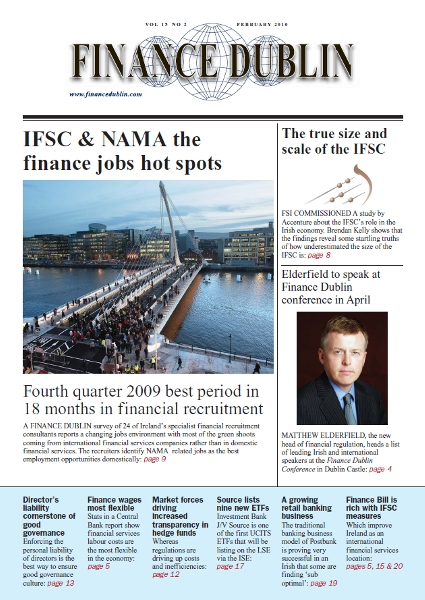 February 2010 Issue of Finance Dublin