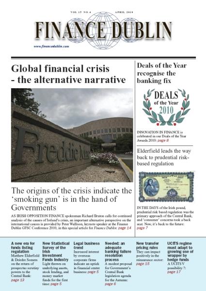 April 2010 Issue of Finance Dublin