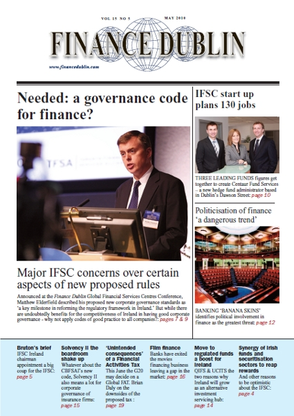 May 2010 Issue of Finance Dublin