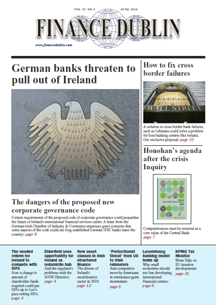 June 2010 Issue of Finance Dublin