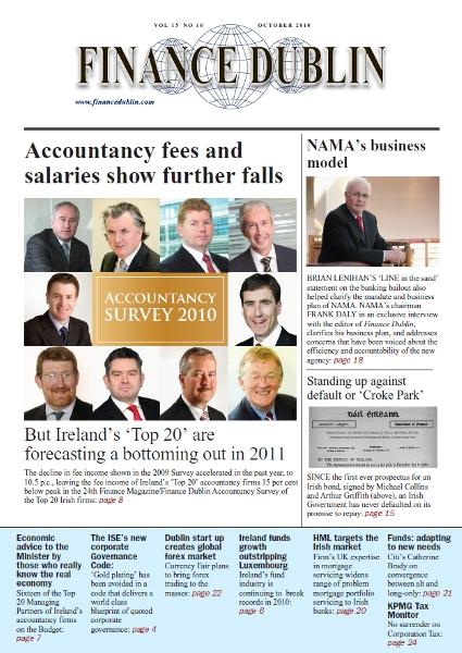 October 2010 Issue of Finance Dublin