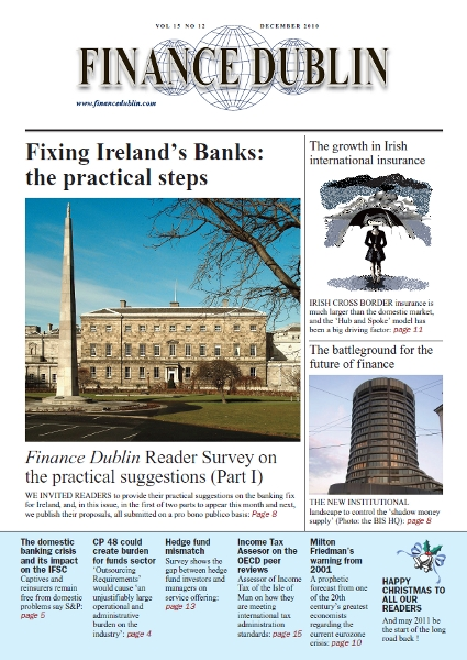 December 2010 Issue of Finance Dublin