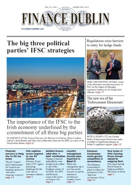 February 2011 Issue of Finance Dublin