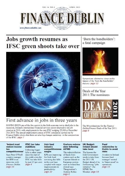 April 2011 Issue of Finance Dublin