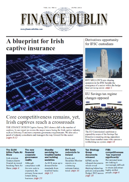 June 2011 Issue of Finance Dublin