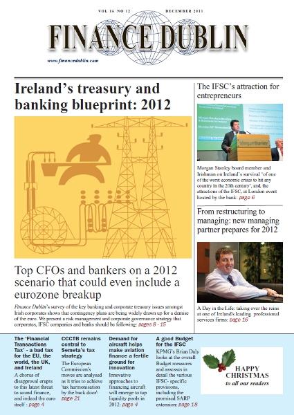 December 2011 Issue of Finance Dublin