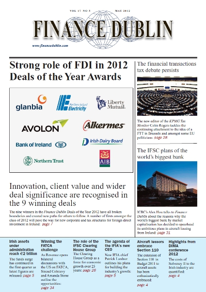 May 2012 Issue of Finance Dublin