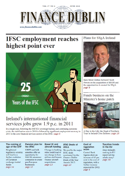 June 2012 Issue of Finance Dublin
