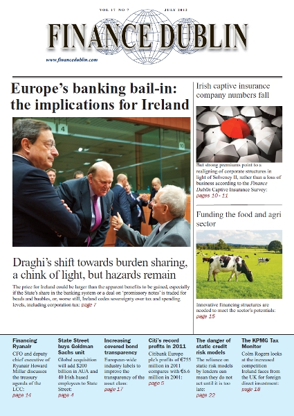 July 2012 Issue of Finance Dublin