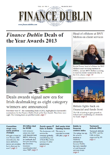 March 2013 Issue of Finance Dublin