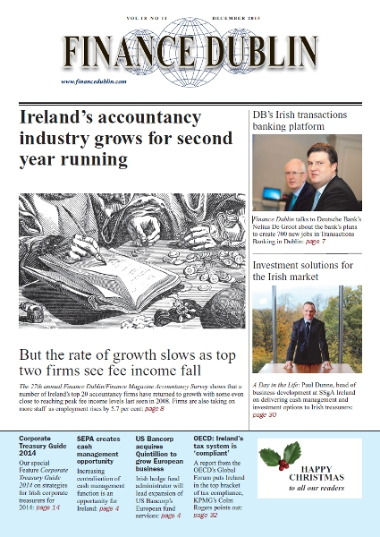December 2013 Issue of Finance Dublin
