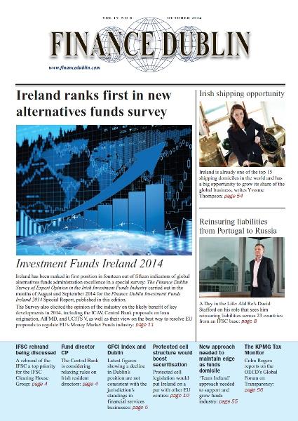 October 2014 Issue of Finance Dublin