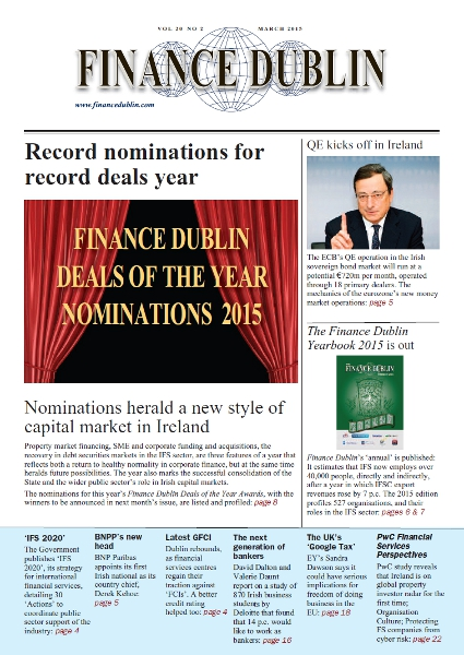 March 2015 Issue of Finance Dublin