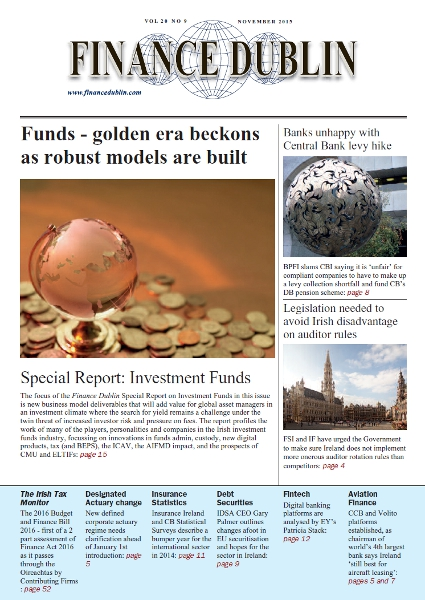 November 2015 Issue of Finance Dublin