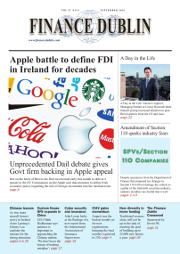 September 2016 Issue of Finance Dublin