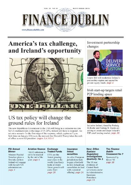 November 2016 Issue of Finance Dublin