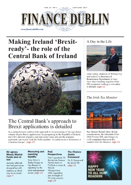 January 2017 Issue of Finance Dublin