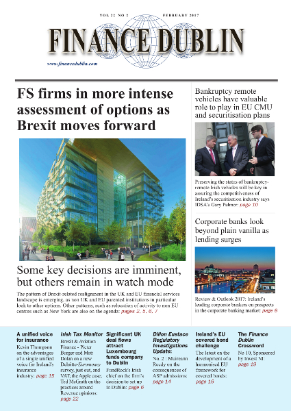 February 2017 Issue of Finance Dublin