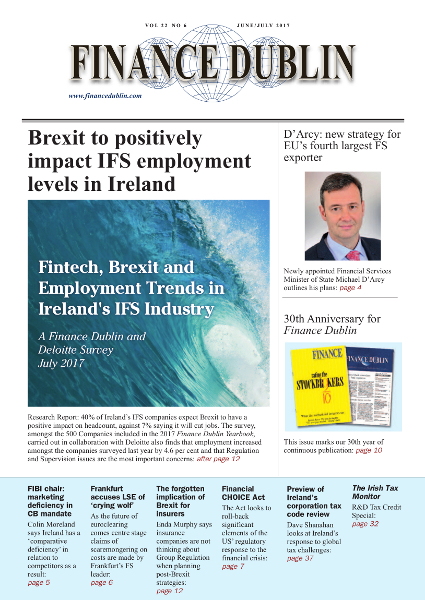 June 2017 Issue of Finance Dublin