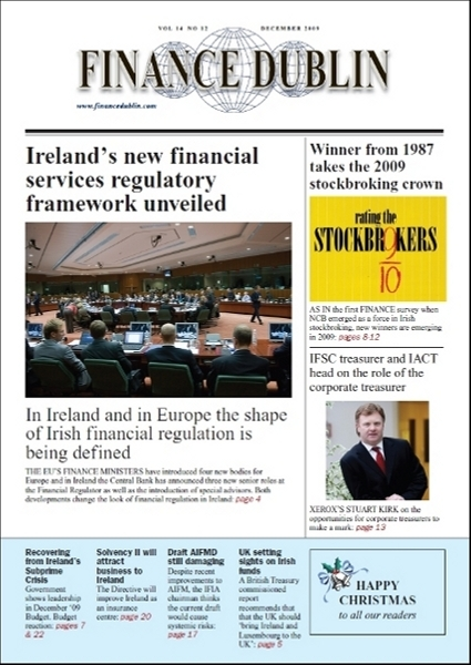 December 2009 Issue of Finance Dublin