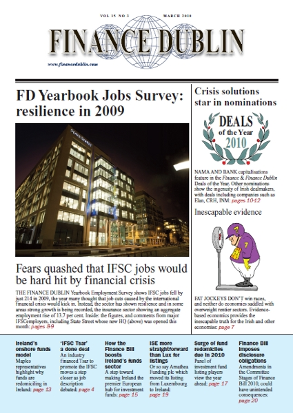 March 2010 Issue of Finance Dublin