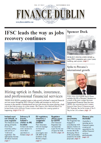 September 2010 Issue of Finance Dublin