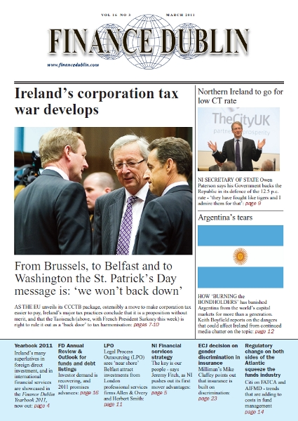 March 2011 Issue of Finance Dublin