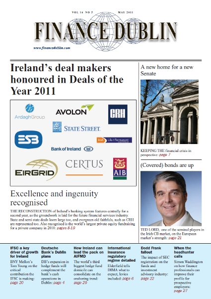 May 2011 Issue of Finance Dublin
