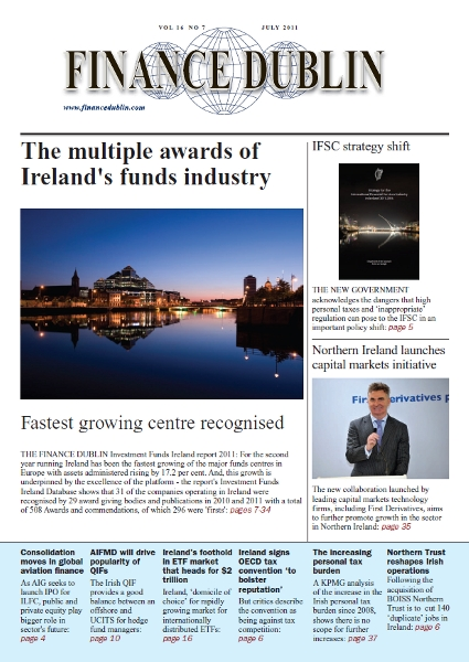 July 2011 Issue of Finance Dublin