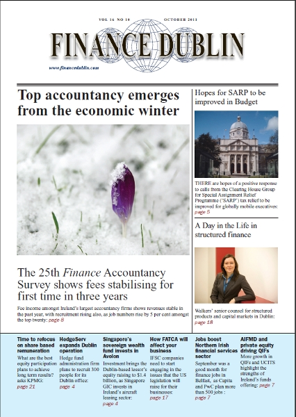 October 2011 Issue of Finance Dublin