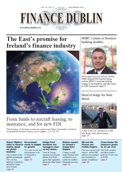 November 2011 Issue of Finance Dublin