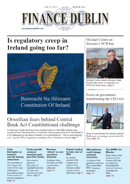 March 2012 Issue of Finance Dublin