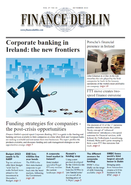 October 2012 Issue of Finance Dublin