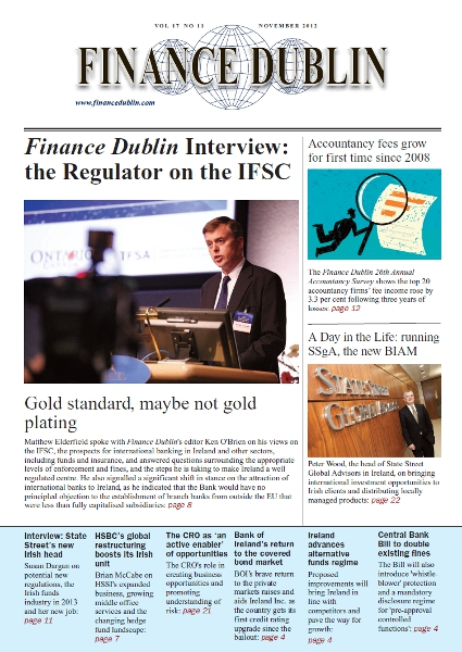 November 2012 Issue of Finance Dublin