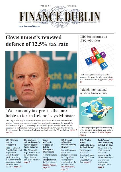July 2013 Issue of Finance Dublin