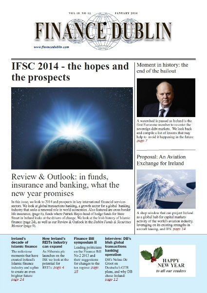 January 2014 Issue of Finance Dublin