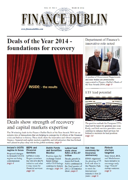 March 2014 Issue of Finance Dublin