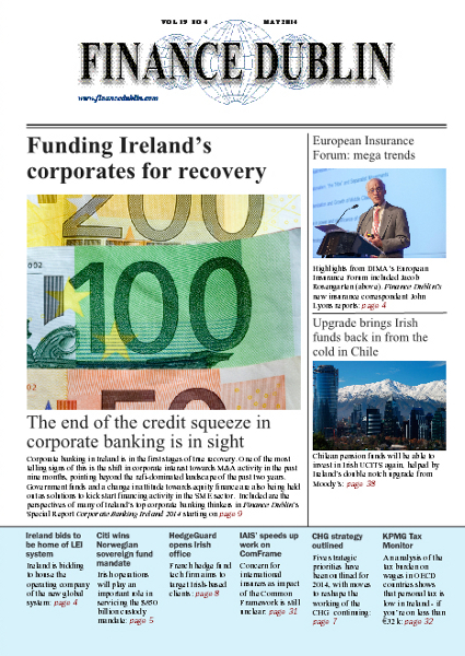 May 2014 Issue of Finance Dublin