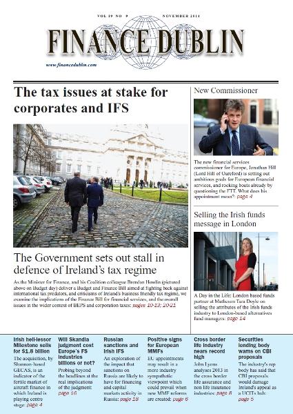 November 2014 Issue of Finance Dublin
