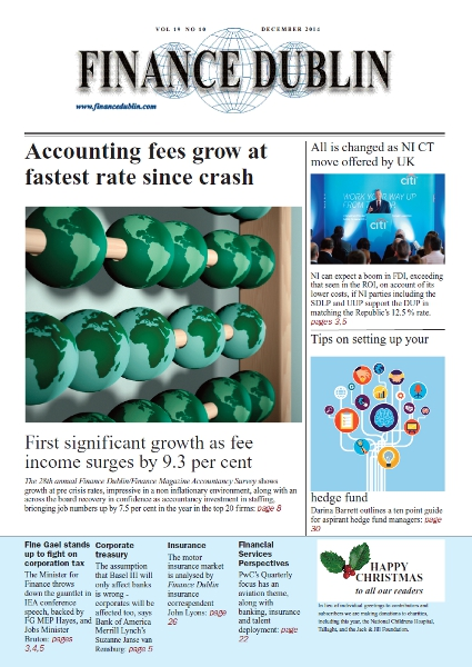 December 2014 Issue of Finance Dublin