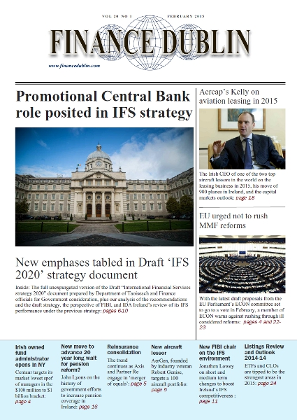 February 2015 Issue of Finance Dublin