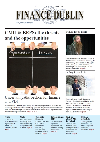 May 2015 Issue of Finance Dublin