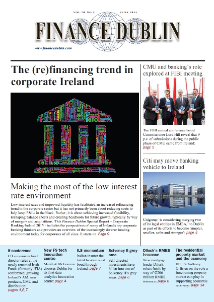 June 2015 Issue of Finance Dublin