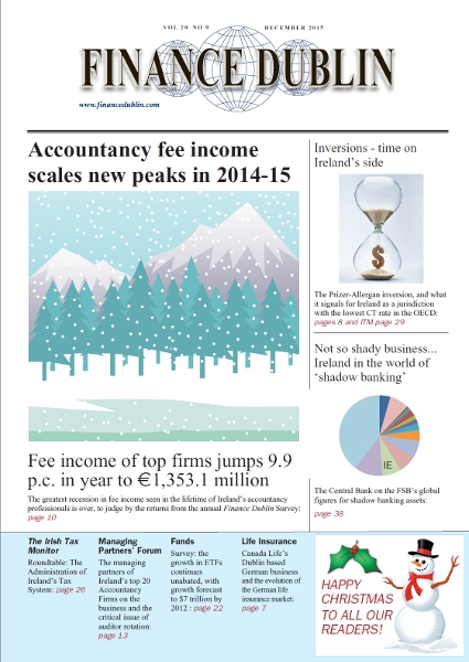 December 2015 Issue of Finance Dublin