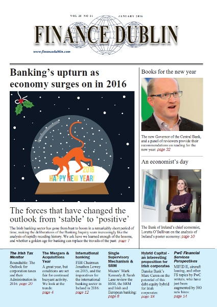 January 2016 Issue of Finance Dublin