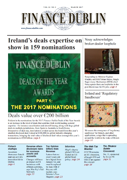 March 2017 Issue of Finance Dublin