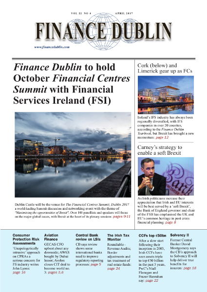 April 2017 Issue of Finance Dublin