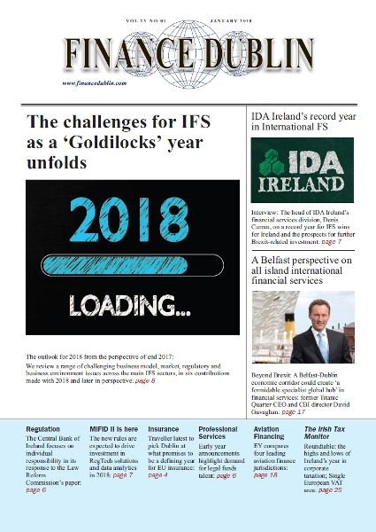 January 2018 Issue of Finance Dublin