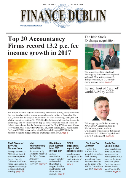 March 2018 Issue of Finance Dublin