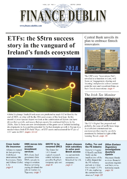 June 2018 Issue of Finance Dublin